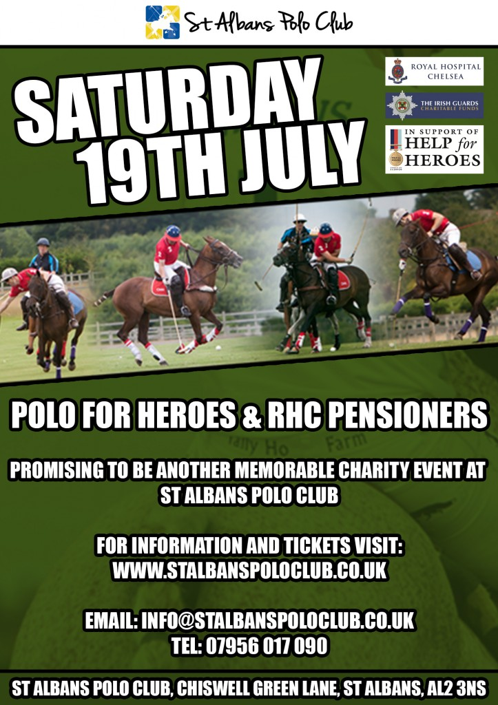 Polo For Heros & RHC Pensioners 2014 Flyer